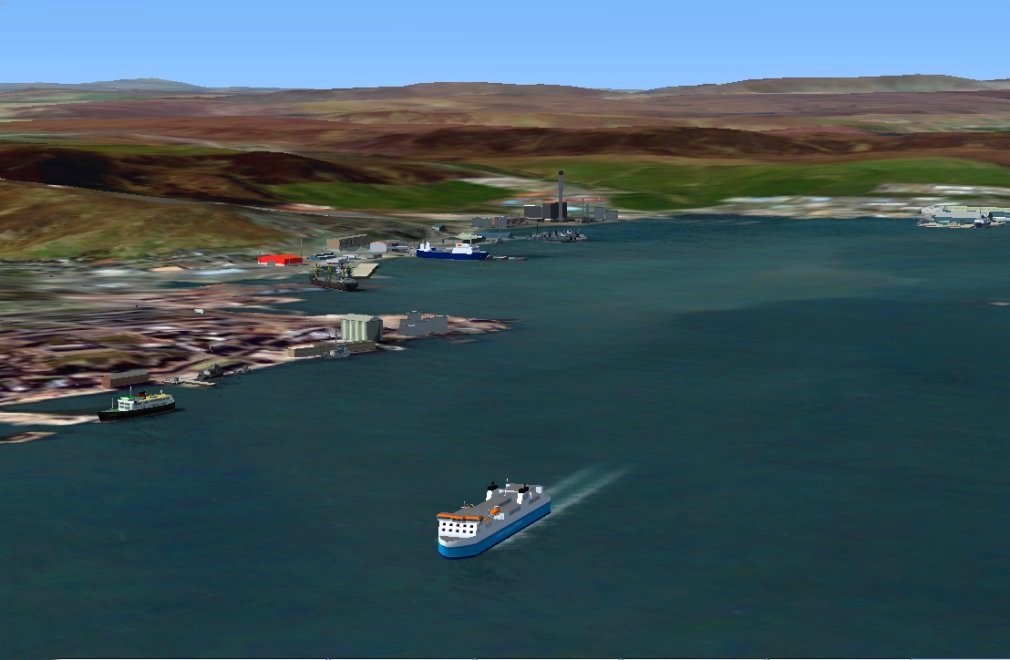 Screenshot - Lerwick on the Shetland mainland