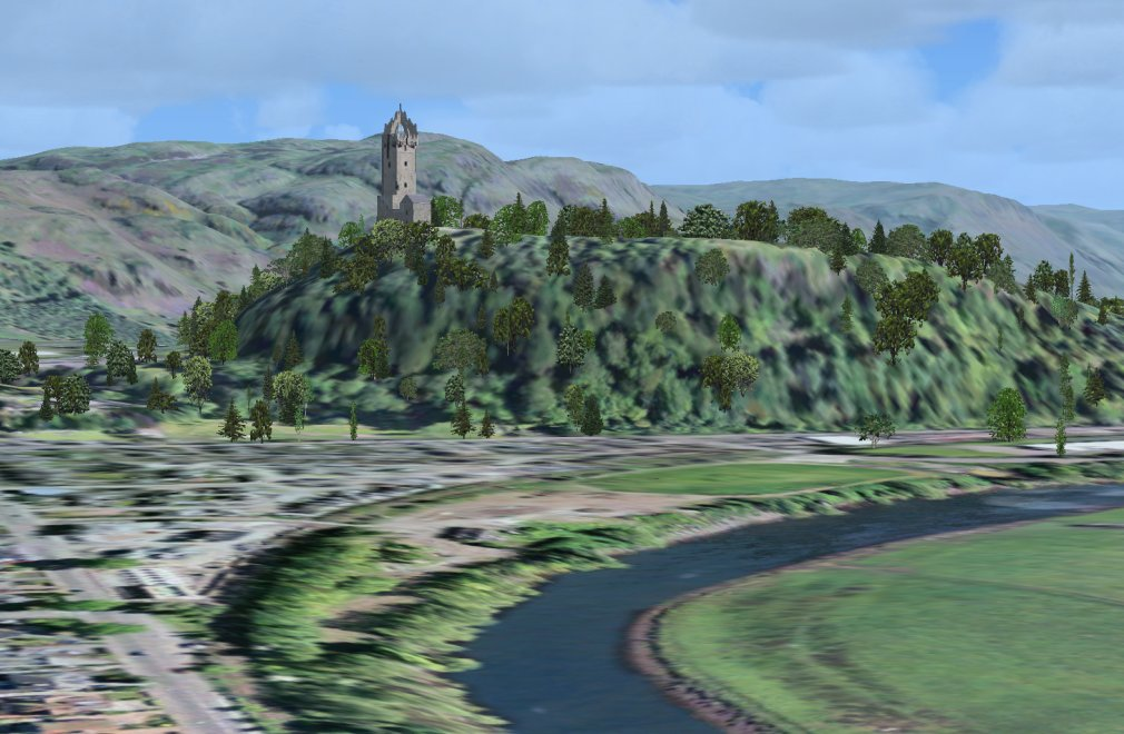 Screenshot - The Wallace Monument on Abbey Craig, near Stirling